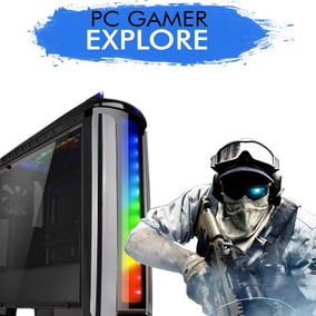 Pc Gamer Explore Intel Core I5-7400 Gtx 1060 6gb 1tb 8gb Ram
