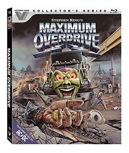 8 Ocho Dias De Terros Maximum Overdrive Pelicula Blu-ray