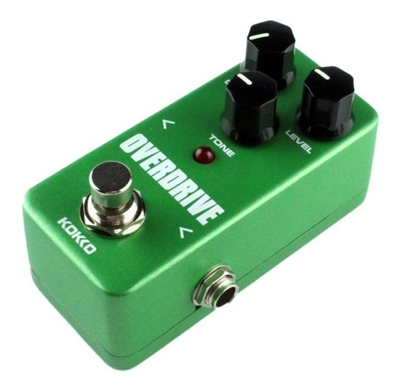 Pedal Kokko Overdrive Booster - Análogo Tube Screamer -fod-3