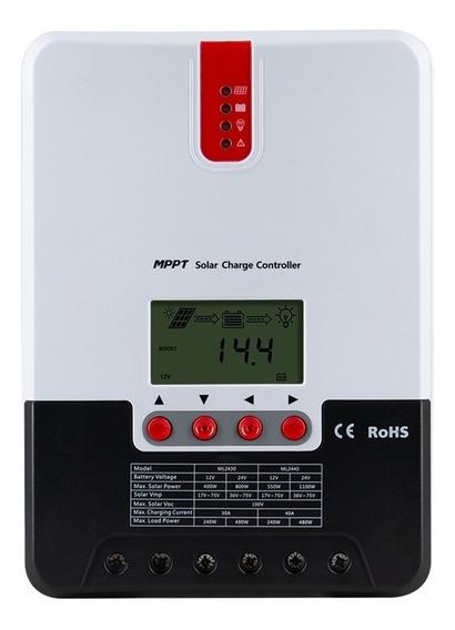 Controlador De Carga Solar Mppt 30a 12v/24v Sr-ml2430