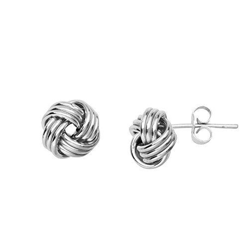Pendientes De Las Niñas Tm020619-14b Diamondjewelryny