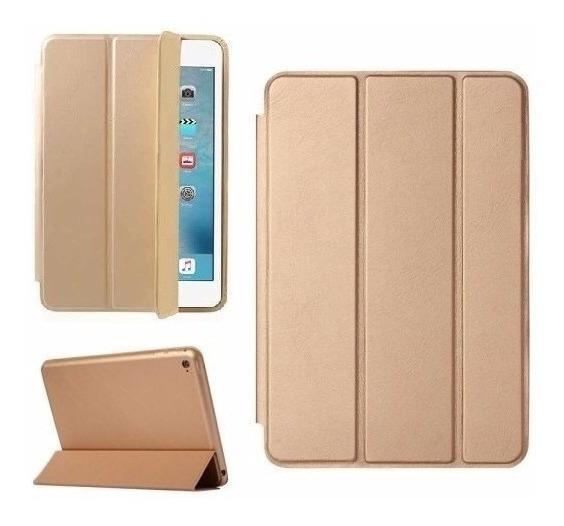 Smart Case iPad Mini 4 Apple Função Sleep Magnética Dourada