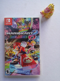 Mario Kart 8 Deluxe Nintendo Switch * Mundo Abierto Vg *