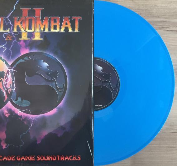 Disco Vinil Lp Video Game Soundtrack Mortal Kombat I & Ii