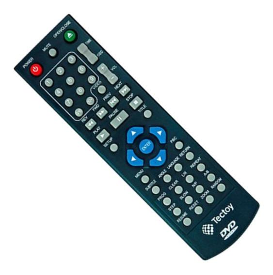Controle Dvd Tectoy Dvt-c101 Ct 170 , 110 Original.