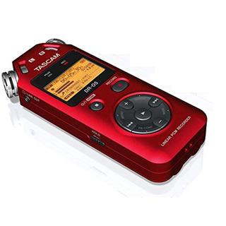 Tascam Tascam Dr-05r Grabadora Digital Portatil-roja