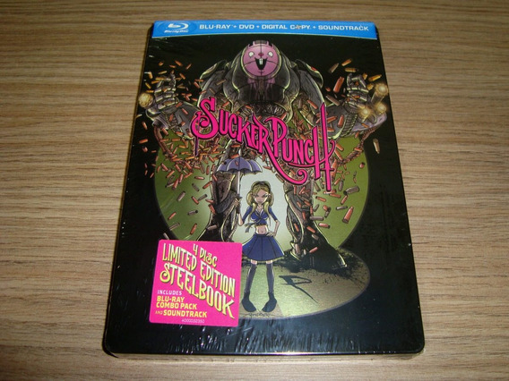 Blu-ray Sucker Punch / Comic-con Exclusive Steelbook | Pt-br