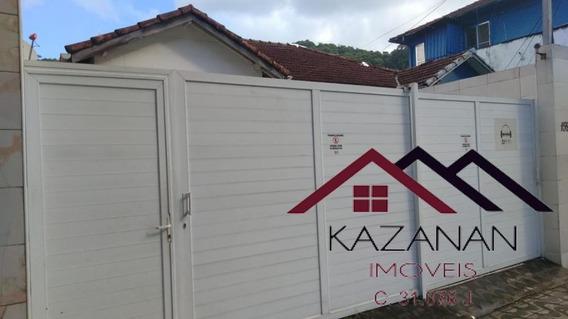 Casa Bem Localizada, Com 2 Dormitórios, 2 Vagas No Marapé, Santos, Sp - 3062