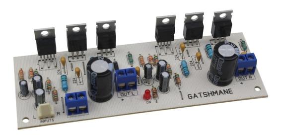 Placa Montada Amplificador 100w Stereo