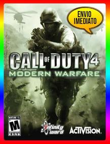 Call Of Duty 4 Modern Warfare Pc - Original Key (envio Já)