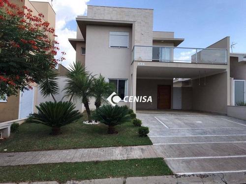 Imagem 1 de 30 de Casa Com 3 Dormitórios À Venda, 231 M² Por R$ 1.120.000,00 - Condomínio Alto De Itaici - Indaiatuba/sp - Ca2665