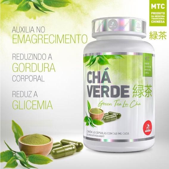 Chá Verde - Green Tea 60 Caps - Midway Labs - Antioxidante