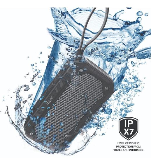 Caixa Som Bluetooth Prova Dagua Iluv Speaker Impact Level 1