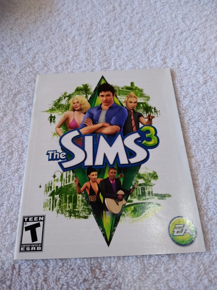 Manual Do Game The Sims 3 Ps3 ** Leia