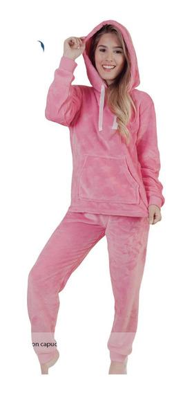 Pijama Invierno Juvenil Super Polar C/capucha Tipico 5610
