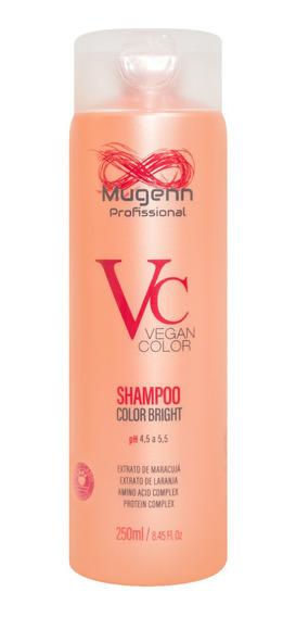 Shampoo Color Bright Vegano Mugenn Cosméticos 250ml