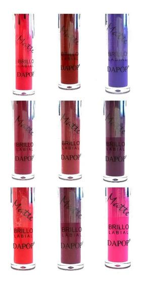 Maquillaje Labial Liquido Matte Dapop 9 Tonos A Eleccion