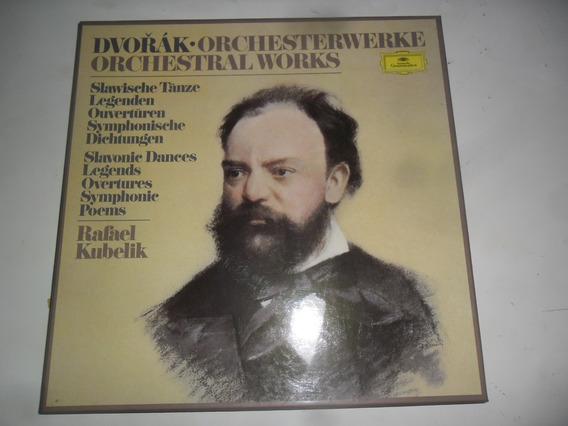 Lp Deutsche Grammophon Dvorák Orchestral Works Caixa 6 Lps