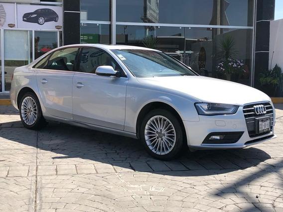 Audi A4 Luxury 2013 Plata Automatico Sedan Lujo A Credito