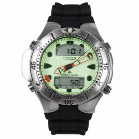 Relógio Citizen Aqualand Anadigi Verde Jp1060-01w