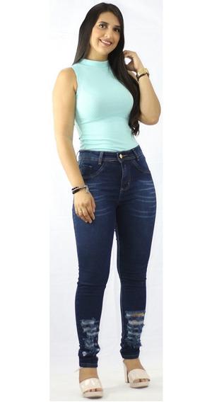 Kit 6 Calças Jeans Feminina Laycra 3%