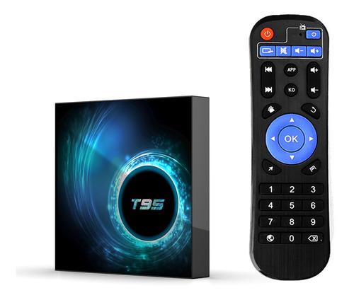 Imagen 1 de 10 de T95 Android 10.0 Smart Tv Box Allwinner H616 Quad-core 64