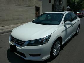 Honda Accord Exl Navi 2014 Blanco