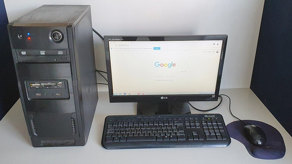 Computador Intel Core I3 3.3mhz, 4gb, 500gb Hd, Monitor 19