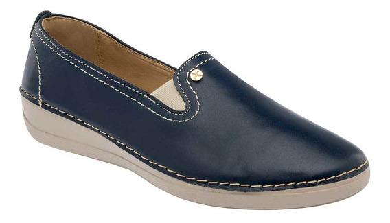 Zapato Casual Dama Marino 095-300