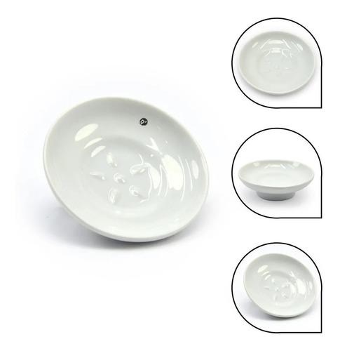 Repuesto Jabonera De Porcelana Blanca Estándar