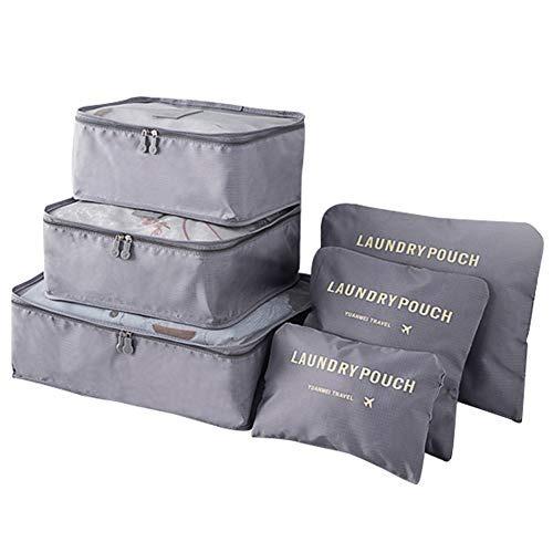 Bolsas De Viaje, Naropox 6 En 1 Organizador De Equipaje Set
