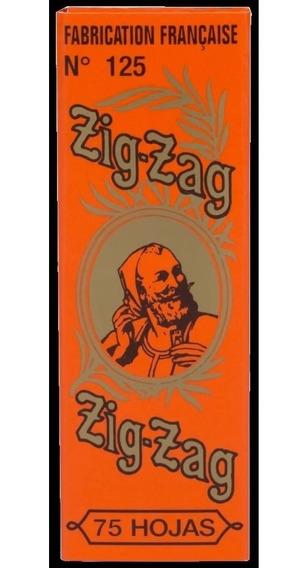 Zig-zag No. 125 1¼ Papel Para Liar (booklet De 75 Hojas)