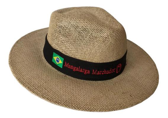 Chapéu Mangalarga Marchador Juta Artesanal Country Cowboy