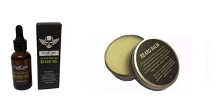 Kit Aceite De Barba Y Bálsamo, Barberia Profesional