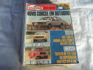 Revista Quatro Rodas N°205 Ano Xviii Abril 1977