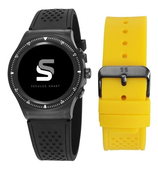 Relógio Smartwatch Masculino Troca Pulseira 79000gpsvpv1