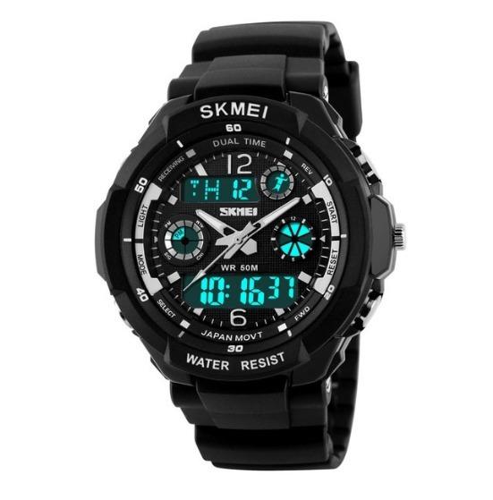 Relógio Masculino Skmei 0931 Led Digital À Prova D