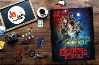 Libretas Personalizadas Stranger Things