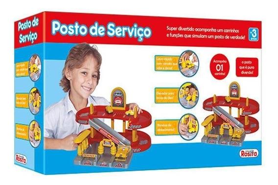 Brinquedo Posto De Serviço Lava Rápido Rosita