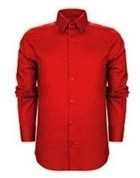 Camisa Hombre Lisa Color M/ Larga Talle Especial 46 48 50 52