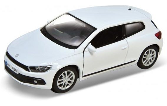 Vw Scirocco Auto 1:36 Welly Lionels 3615
