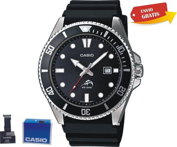 Reloj Casio Mdv106 Resistente Al Agua 200mts Bisel Giratori