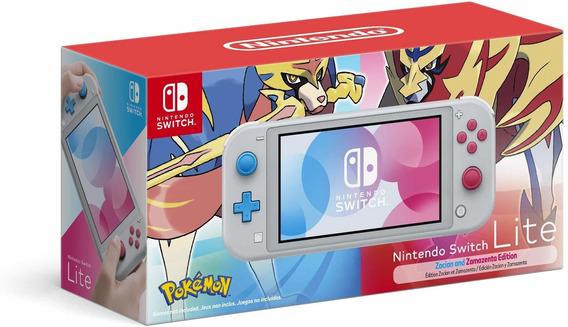 Nintendo Switch Lite 2019 Edición Zacian Y Zamazenta