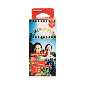 Filme 35mm Lomography - Color Negative - Iso 100 - 36 Exp 2u