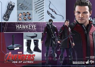 Hot Toys Hawkeye Avengers Age Of Ultron Sideshow Escala 1/6