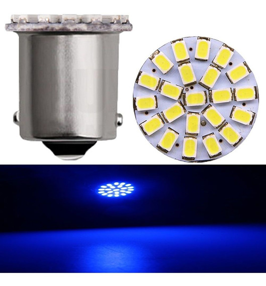 Lampada Led Automotiva 22 Smd 1156 Seta Pisca Carro Kit 4 Un