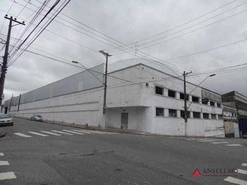 Imagem 1 de 9 de Galpão Para Alugar, 5607 M² Por R$ 96.000/mês - Campestre - Santo André/sp - Ga0367