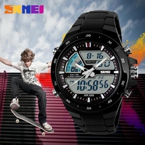 Relógio Skmei Masculino 1016 À Prova D