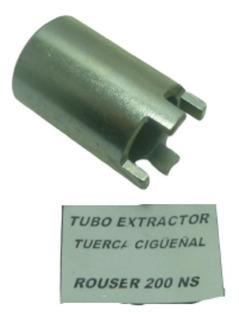 Extractor Tuerca Castillo Cigueñal Rouser Ns200 Moto Avenida