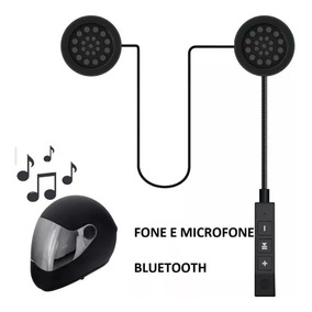 Comunicador Capacete Moto Sem Fio Bluetooth Hi-fi Viva Voz